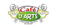Cafe d'Arts Retina Logo